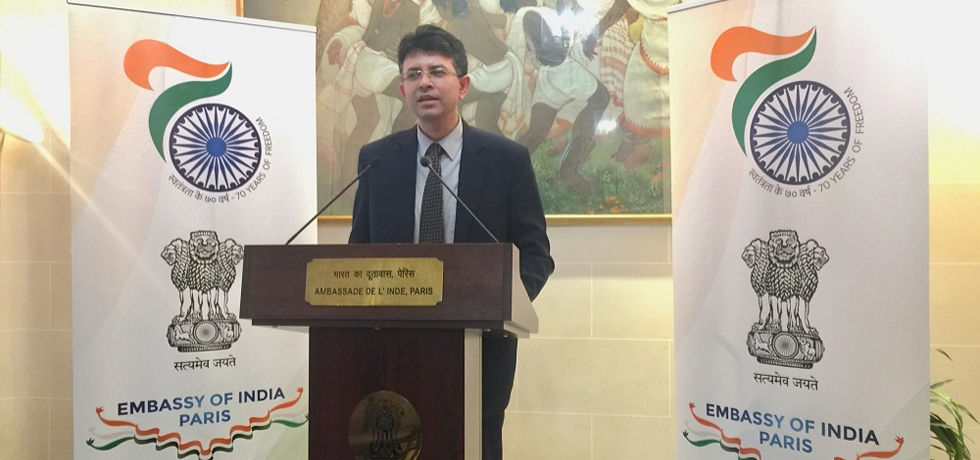 Embassy of India organized a panel discussion on ' Indian Economy- A Bright Spot in the Global Economic Landscape' on 12 April 2018. This event was part of ongoing 'India@70' celebrations.