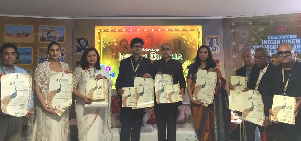 Launch of posters of India International Film Festival (IFFI), Goa at India Pavilion on 09 May at Cannes