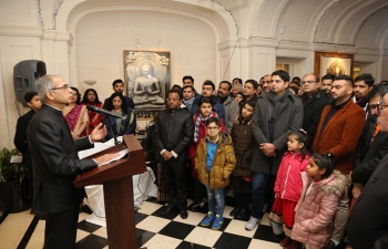 Celebration of 70th Republic Day Day at Embassy of India in Paris