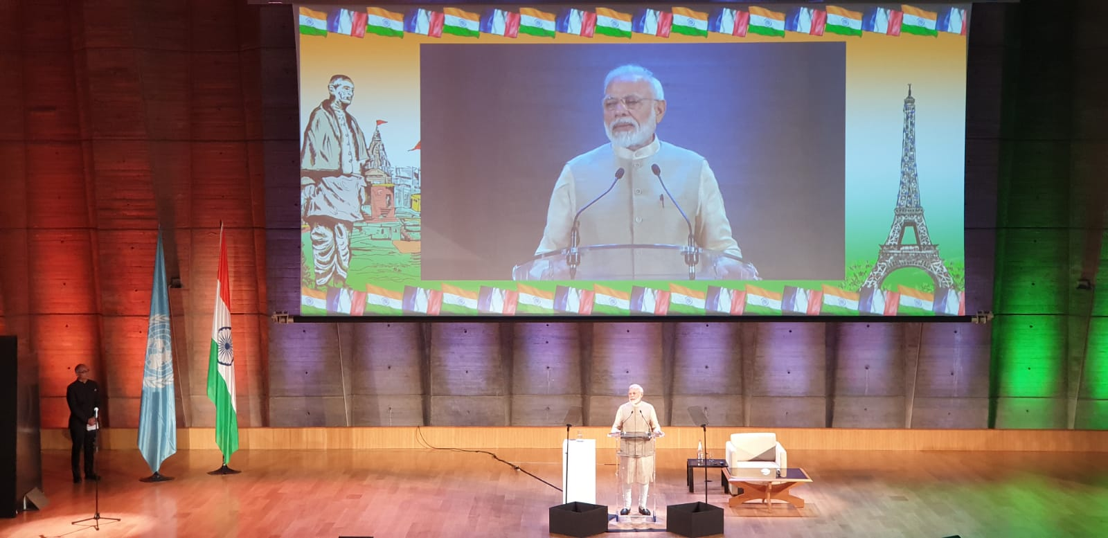 Prime Minister Shri Narendra Modi addressed the Indian Diaspora today at UNESCO, Paris.