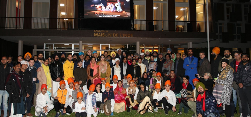 Celebration of 550th Birth Anniversary of Guru Nanak Dev Ji by Embassy of India, Paris at Maison De L'Inde, Paris