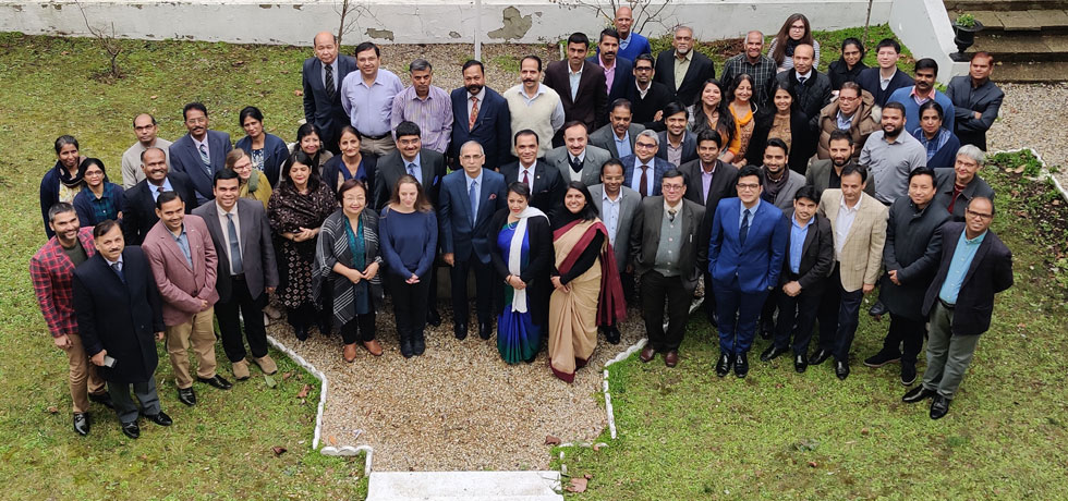 Farewell Reception of Ambassador Vinay Mohan Kwatra at Embassy of India,Paris.