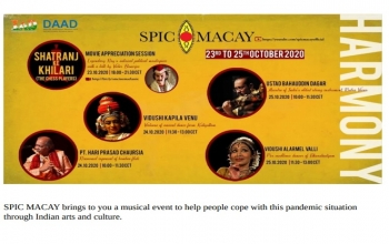 Musical Event by SPIC MACAY