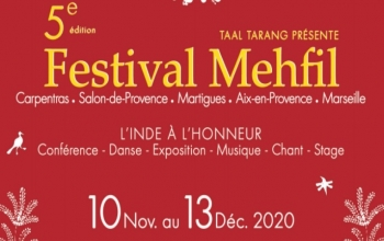 Festival Mehfil by Taal Tarang Association from 10.11.2020 - 13.12.2020.