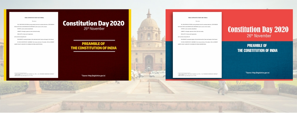 Constitution Day of India - 26th November