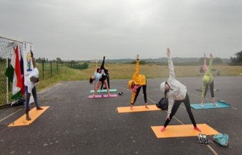Session of Yoga Asana along with Music (for 1 hour) at Guérandealso
